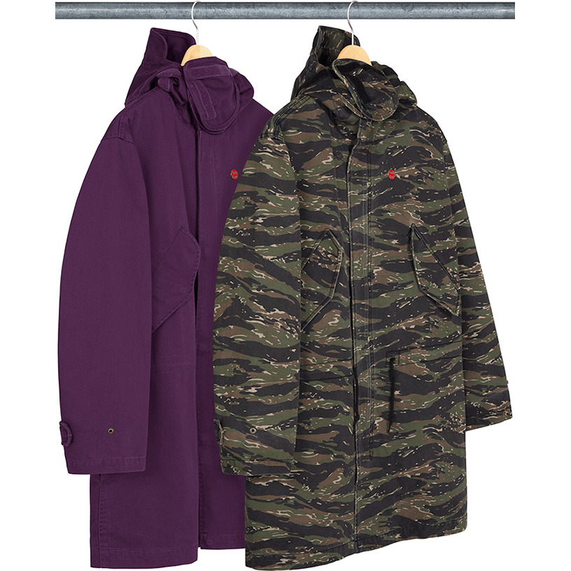 Hooded Facemask Parka