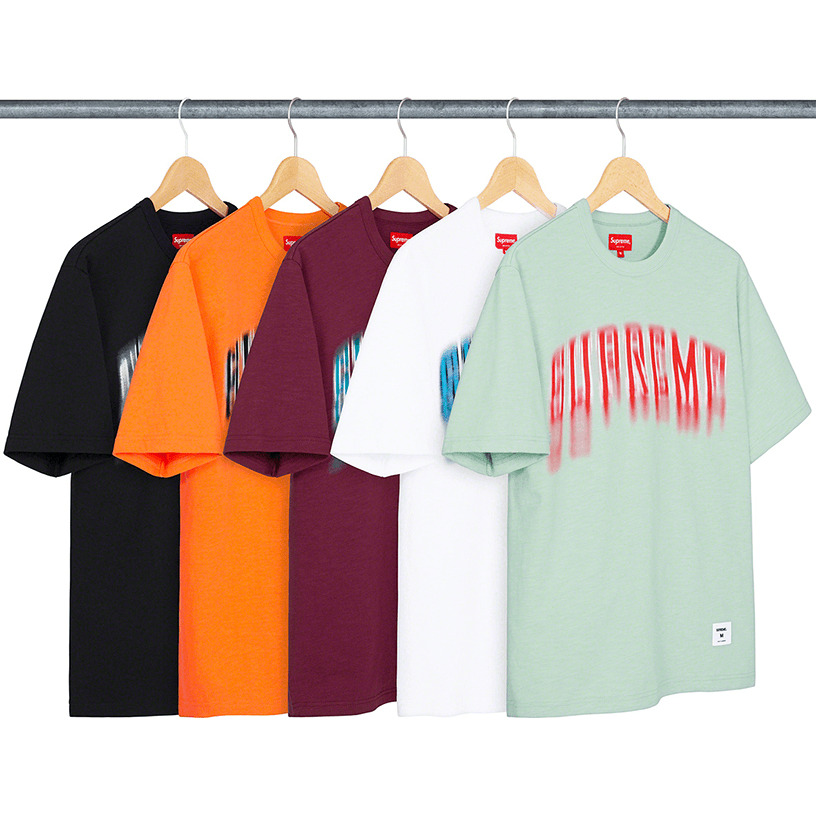 Blurred Arc S/S Top