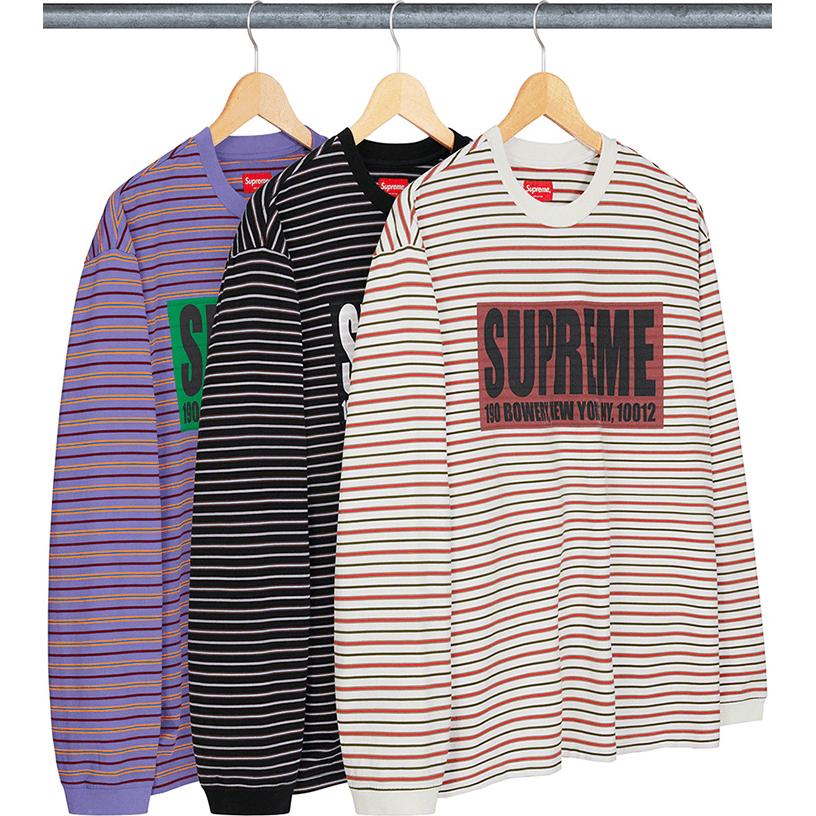 Thin Stripe L/S Top