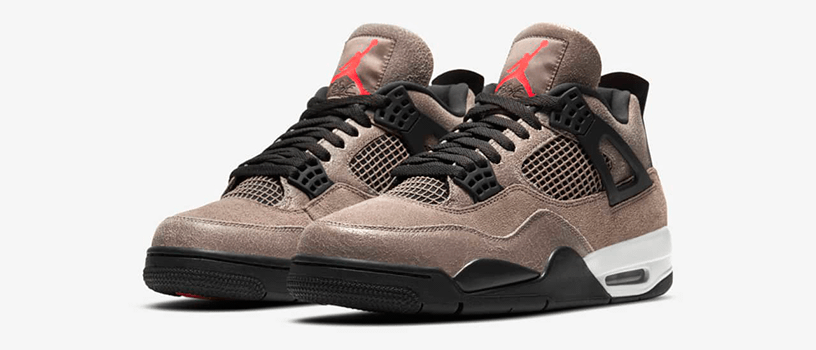 "【2月27日(土)】NIKE AIR JORDAN 4 RETRO ""TAUPE HAZE"""