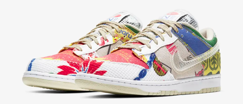 "【3月12日(金)12時~】NIKE DUNK LOW SP ""CITY MARKET"""