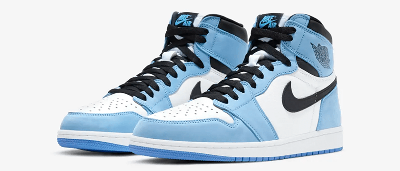 "【抽選:3月8日(月)まで】NIKE AIR JORDAN 1 RETRO HIGH OG ""UNIVERSITY BLUE"""