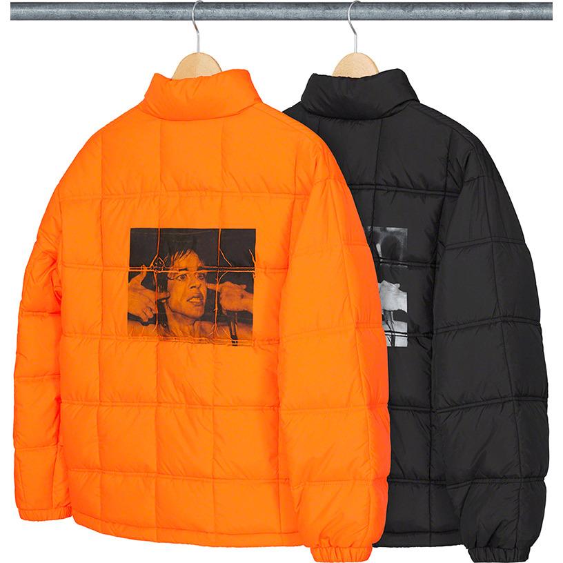 Iggy Pop Puffy Jacket