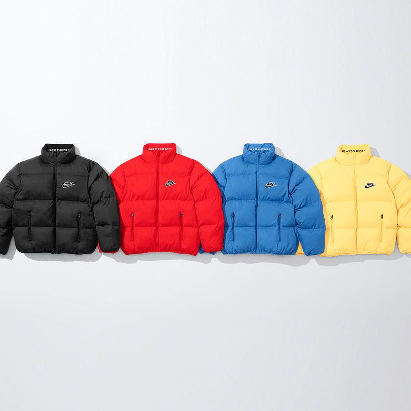 Supreme®/Nike® Reversible Puffy Jacket