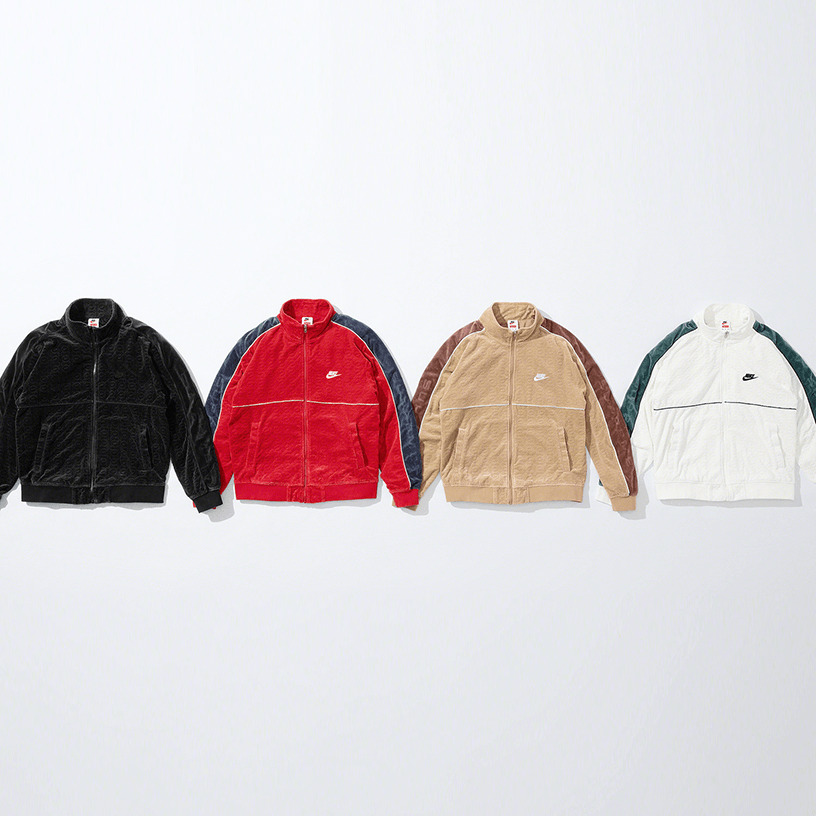 Supreme®/Nike® Velour Track Jacket