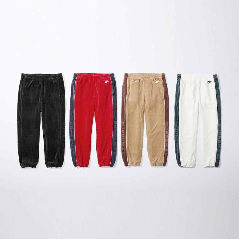 Supreme®/Nike® Velour Track Pant