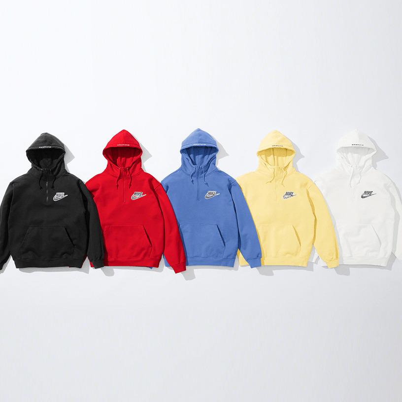 Supreme®/Nike® Half Zip Hooded Sweatshirt