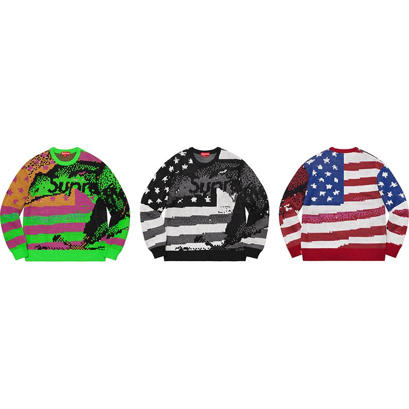 Digital Flag Sweater