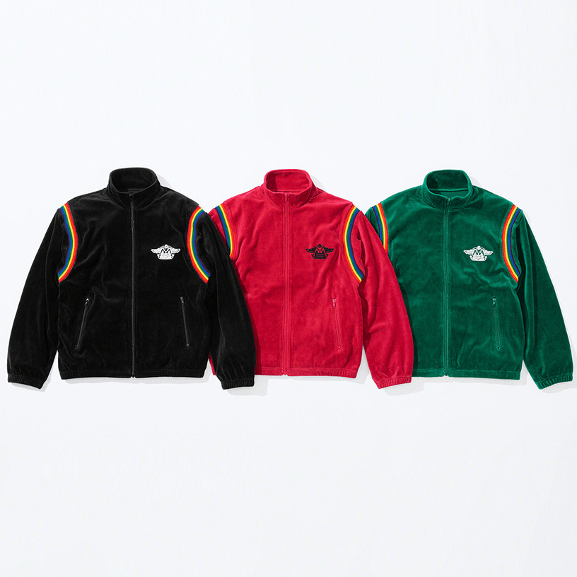Supreme®/HYSTERIC GLAMOUR Velour Track Jacket