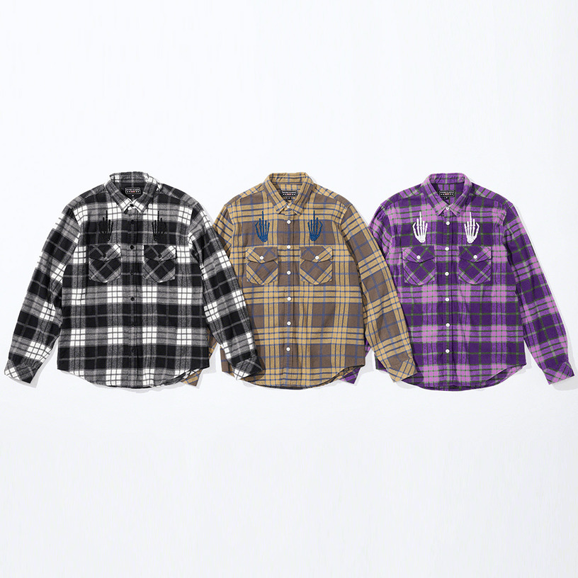 Supreme®/HYSTERIC GLAMOUR Plaid Flannel Shirt
