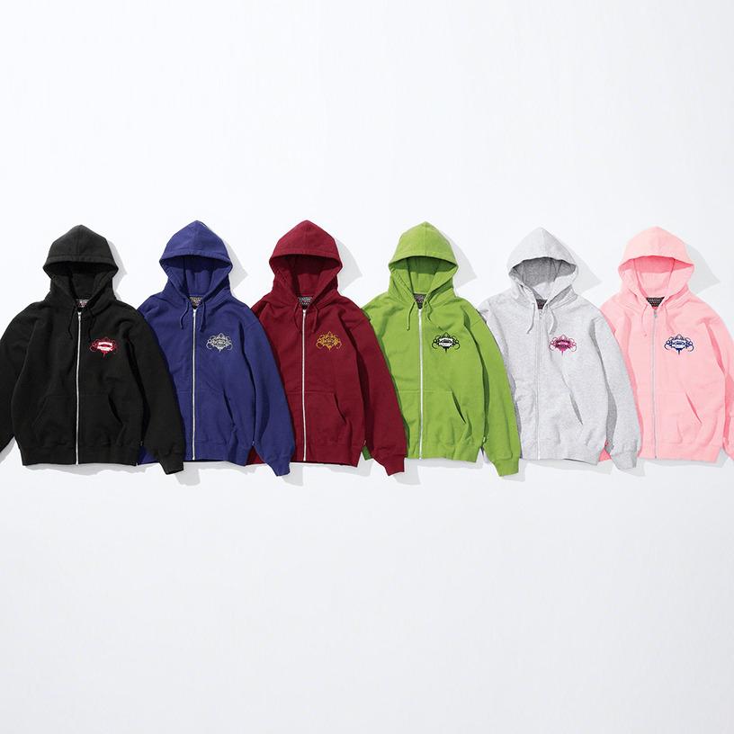 Supreme®/HYSTERIC GLAMOUR Zip Up Hooded Sweatshirt
