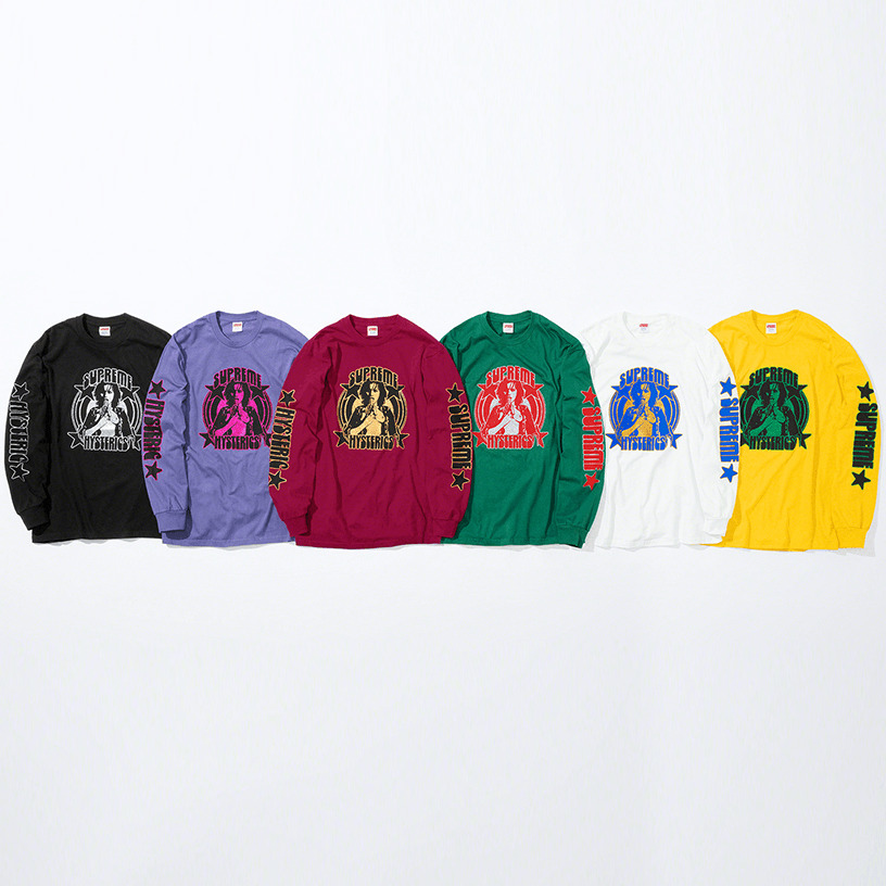 Supreme®/HYSTERIC GLAMOUR L/S Tee