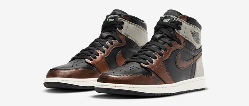 "【抽選:3月27日(土)まで】NIKE AIR JORDAN 1 RETRO HIGH OG ""RUST SHADOW"""