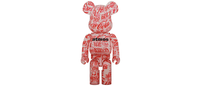 【3月20日(土)~】BE@RBRICK atmos × Coca-Cola 1000% CLEAR BODY