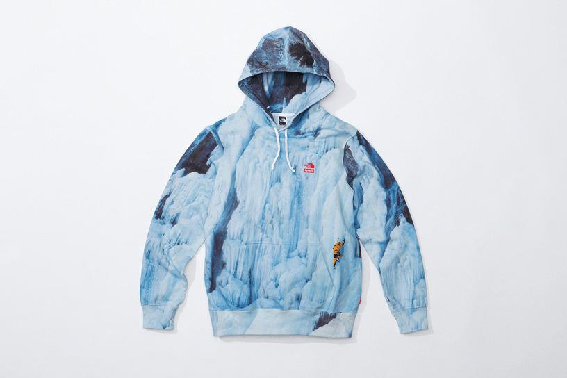 Supreme®/The North Face® Ice Climb Hooded Sweatshirt