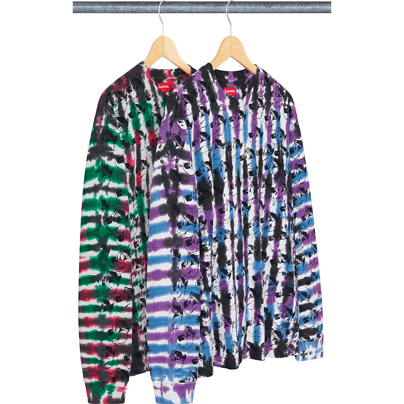 Dyed Bear L/S Top