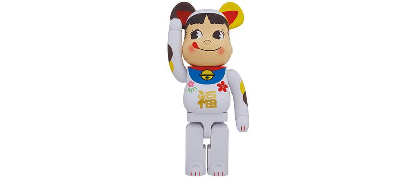 【5月22日(土)~】BE@RBRICK 招き猫 ペコちゃん 福