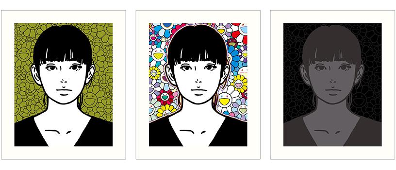 【抽選:4月11日(日)20時~】村上隆 × KYNE 版画3種
