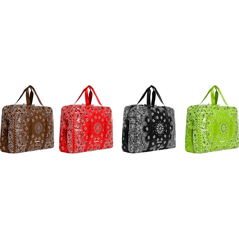 Bandana Tarp Large Duffle Bag