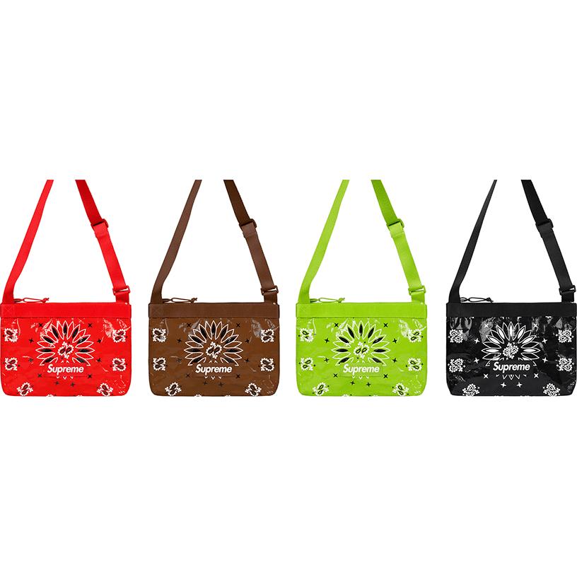 Bandana Tarp Side Bag