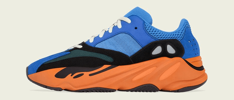 "【4月24日(土)】adidas YEEZY BOOST 700 ""BRIGHT BLUE"""