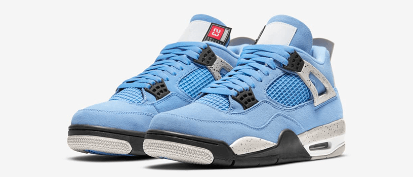 "【4月30日(金)22時~】NIKE AIR JORDAN 4 RETRO SE ""UNIVERSITY BLUE"""