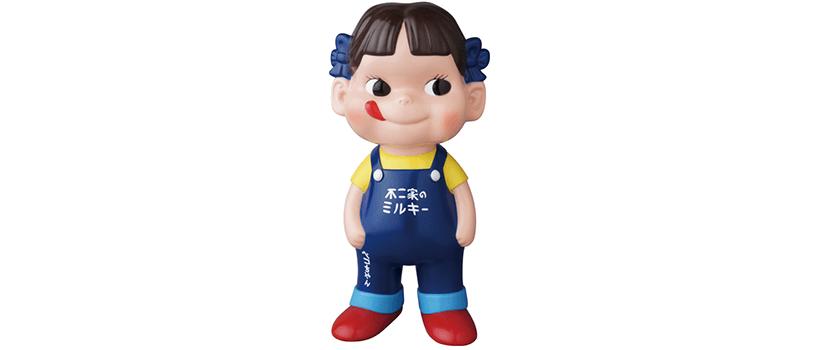 【3月15日(金)10時~】不二家ソフビコレクション ペコちゃん 青オーバーオール