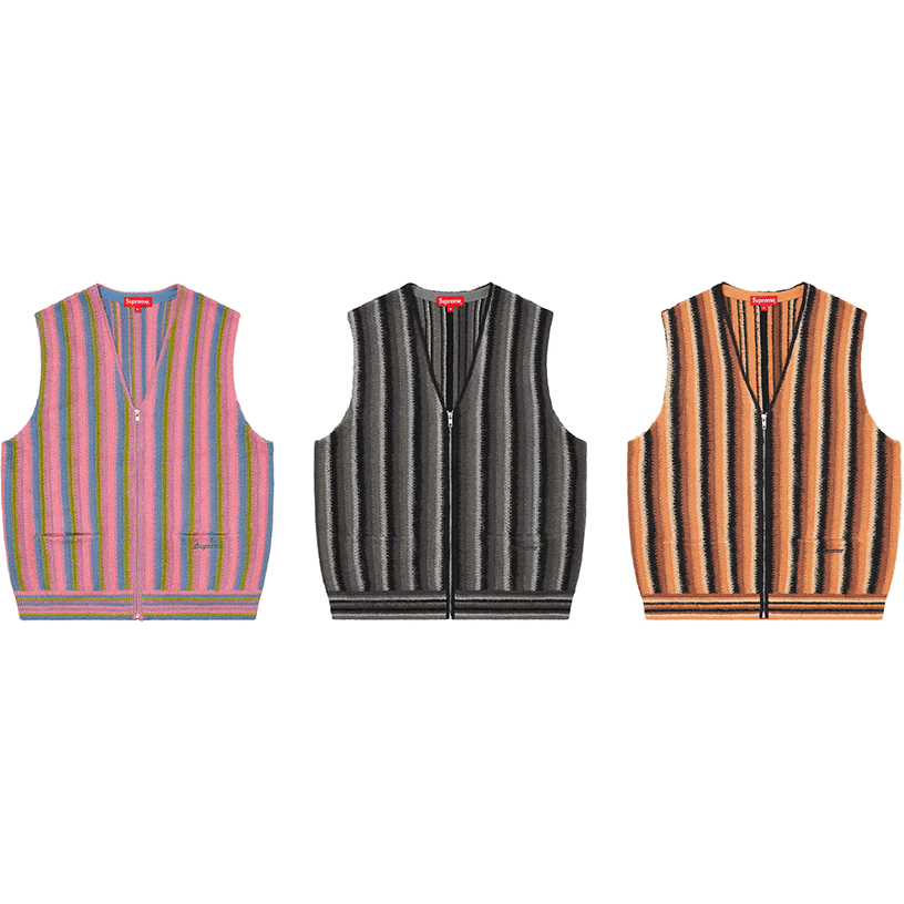 Stripe Sweater Vest