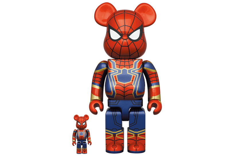 BE@RBRICK IRON SPIDER 100% & 400% 17,600円(税込)