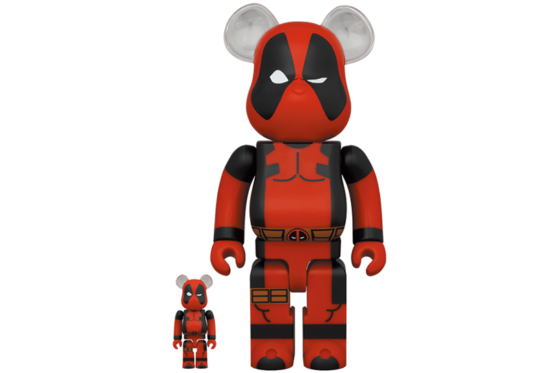BE@RBRICK DEADPOOL 100% & 400% 17,600円(税込)