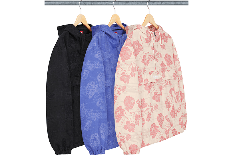 Floral Tapestry Anorak
