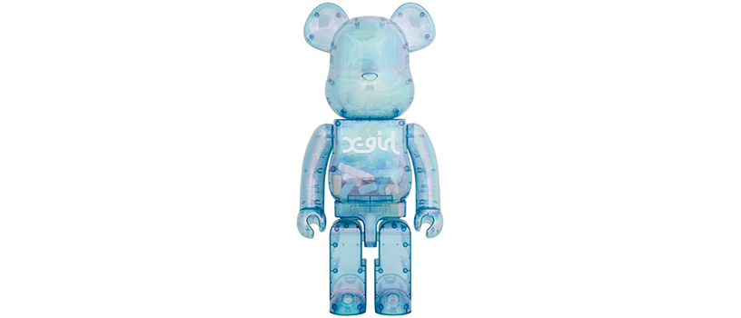 【5月15日(土)~】BE@RBRICK X-girl 2021