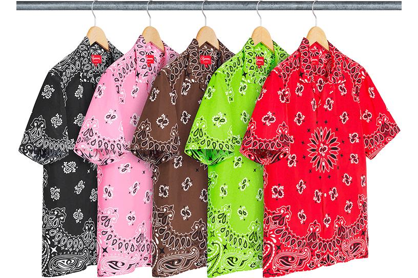 Bandana Silk S/S Shirt