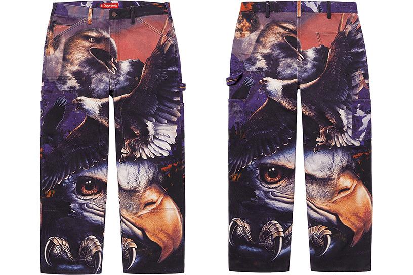 Eagle Double Knee Denim Painter Pant