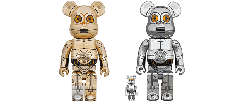 【5月15日(土)】BE@RBRICK C-3PO(TM)1000% & TC-14(TM)100% & 400%
