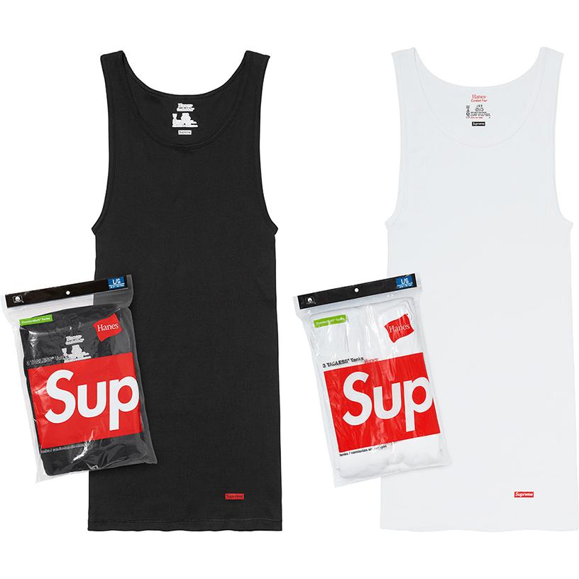 Supreme®/Hanes® Tagless Tank Tops (3 Pack)