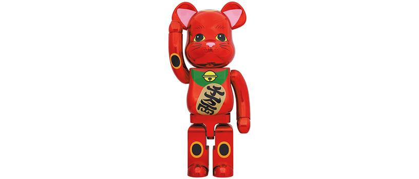 【6月2日(水)12時~】BE@RBRICK 招き猫 梅金メッキ