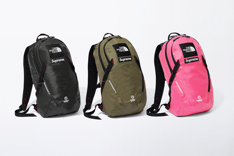 Supreme®/The North Face® Summit Series Outer Tape Seam Route Rocket Backpack. 16L.