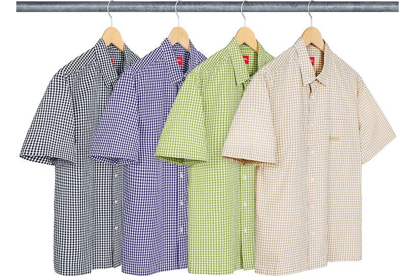 Gingham S/S Shirt