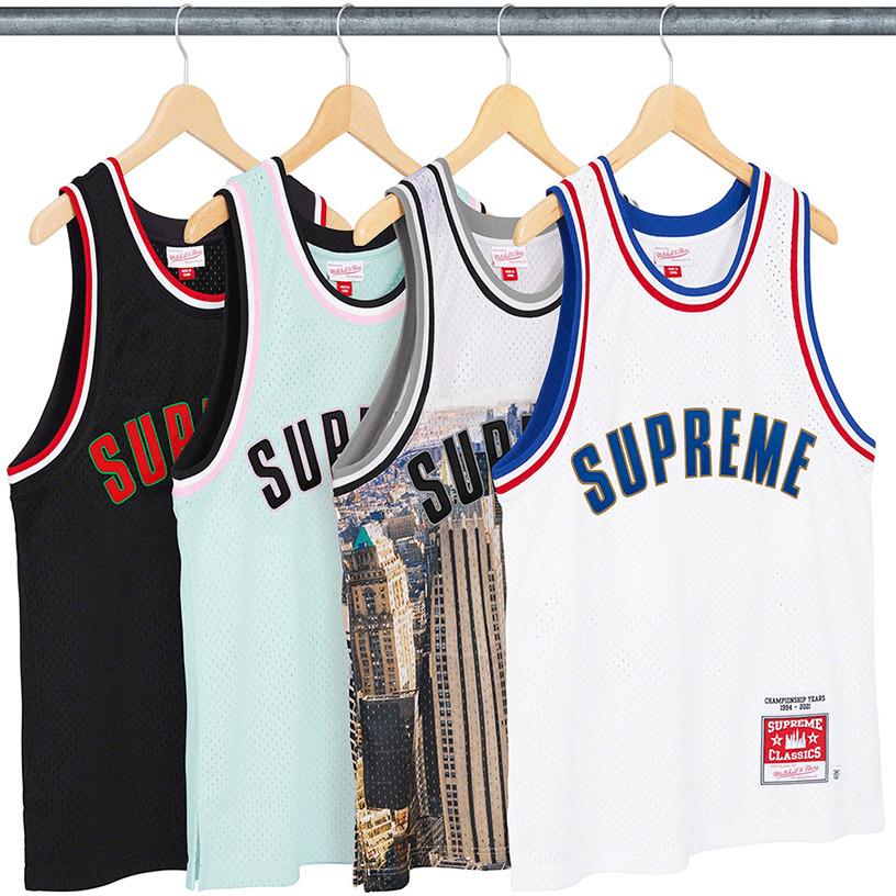 Supreme®/Mitchell & Ness® Basketball Jersey