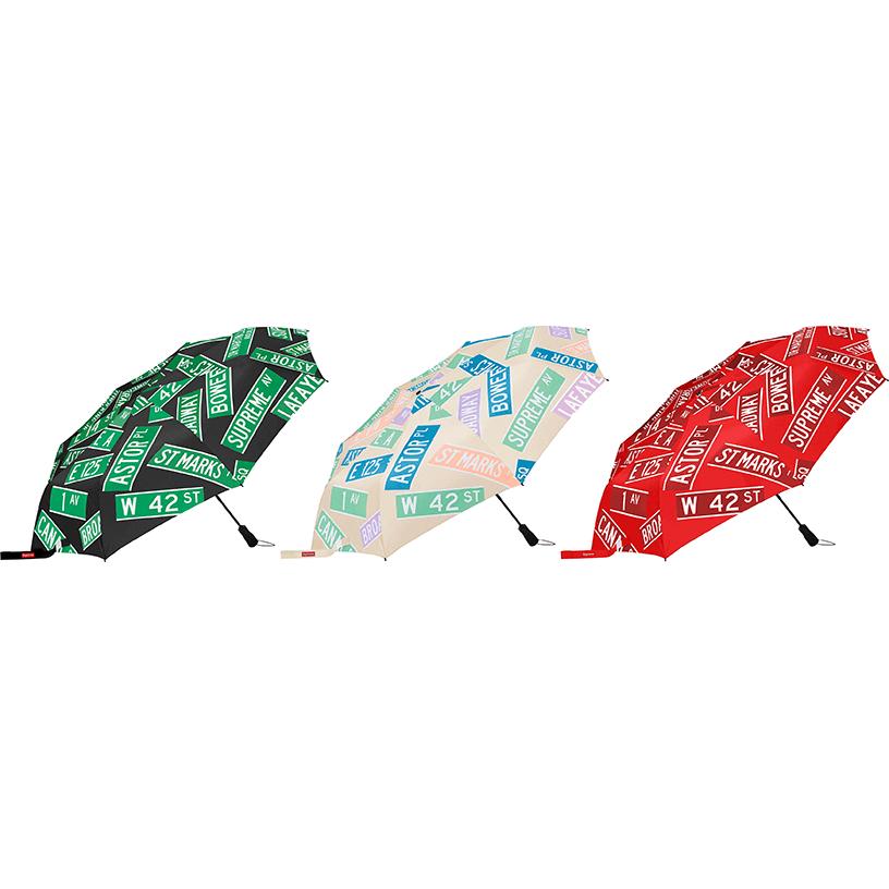 Supreme®/ShedRain® Street Signs Umbrella