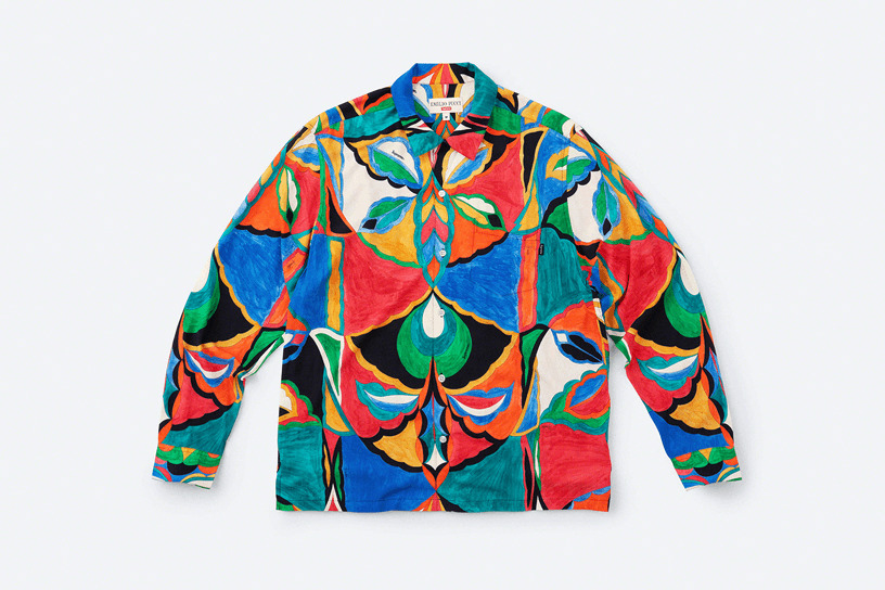 Supreme®/Emilio Pucci® L/S Shirt