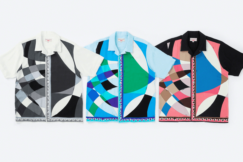 Supreme®/Emilio Pucci® S/S Shirt
