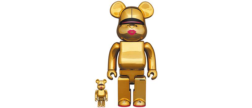 【6月26日(土)】BE@RBRICK SORAYAMA × 2G GOLD Ver. 100% & 400%