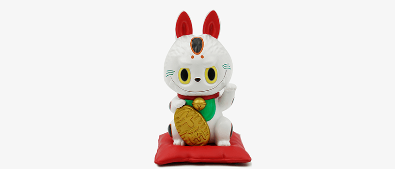 【抽選:6月20日(日)まで】LABUBU 招き猫