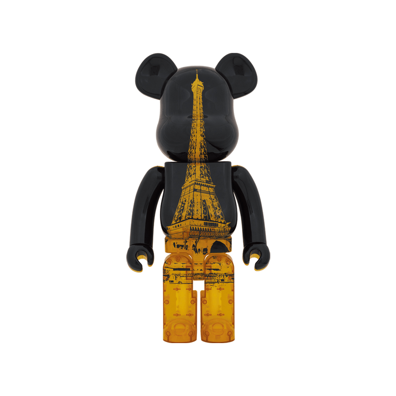 BE@RBRICK EIFFEL TOWER GOLDEN GOWN Ver. 1000%