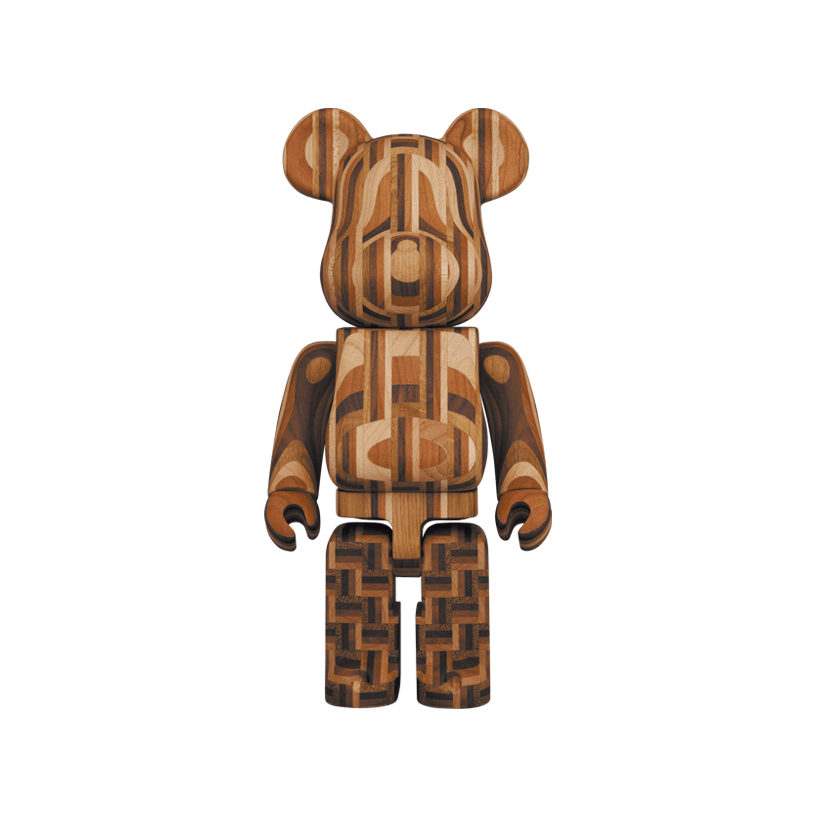 BE@RBRICK カリモク 寄木 2nd 400%