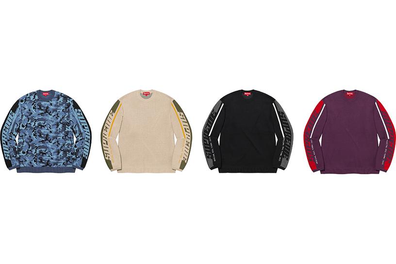 Sleeve Stripe Sweater