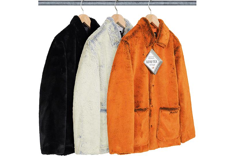 2-Tone Faux Fur Shop Coat