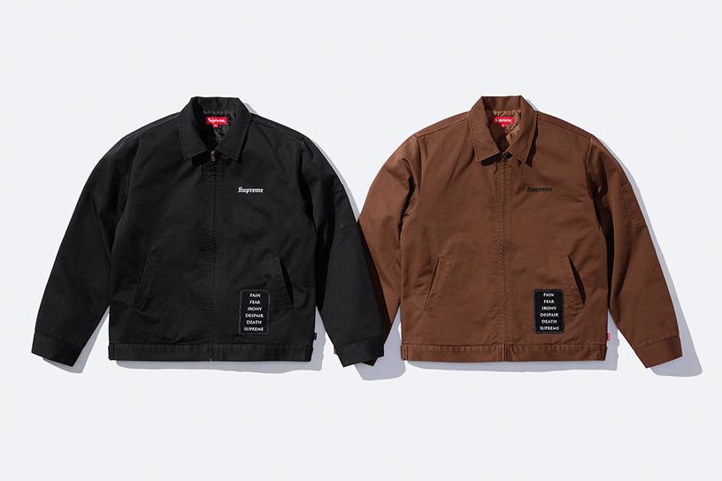 Supreme/The Crow Work Jacket